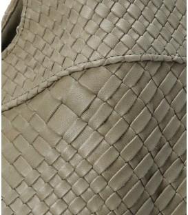 CLARAMONTE sac cuir kaki PABLO
