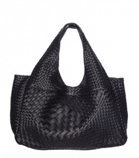 PABLO sac cuir noir CLARAMONTE