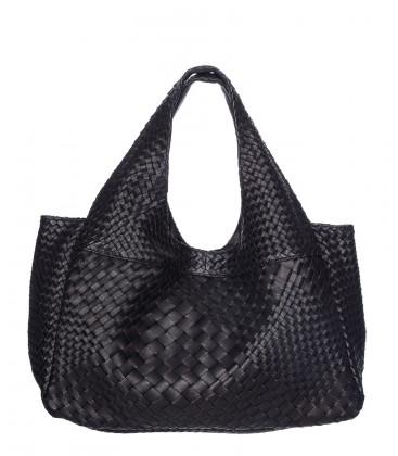 CLARAMONTE sac cuir noir PABLO