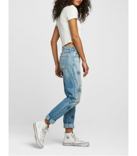 RILEY crop relaxed straight HUDSON JEANS