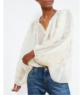 ESTEBAN blouse ivoire