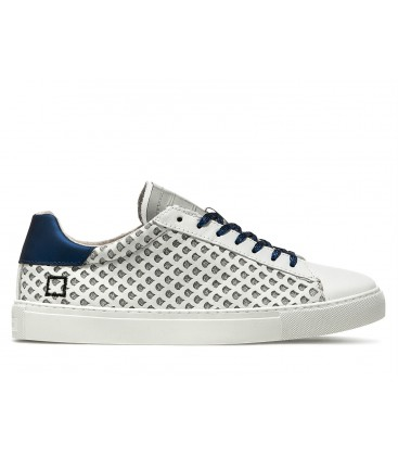 NEWMAN PERFORATED GLITTER WHITE BLUE D.A.T.E.