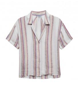 ZUMA havana stripe chemise