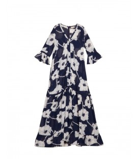 RESORT robe gown bloom