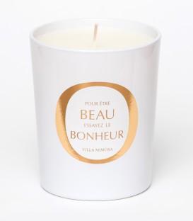 VILLA MIMOSA bougie parfumée 200g BEAU BONHEUR MAISON Le Lavandou