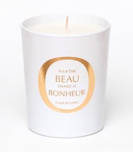 PLAGE DU LAYET bougie parfumée 200g BEAU BONHEUR MAISON Le Lavandou
