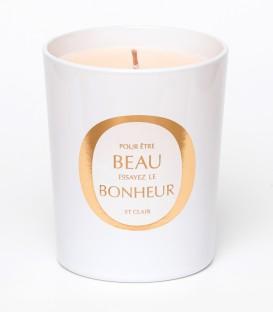 ST CLAIR bougie parfumée 200g BEAU BONHEUR MAISON Le Lavandou