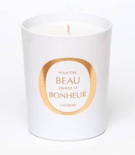 CAP NEGRE bougie parfumée 200g BEAU BONHEUR MAISON Le Lavandou