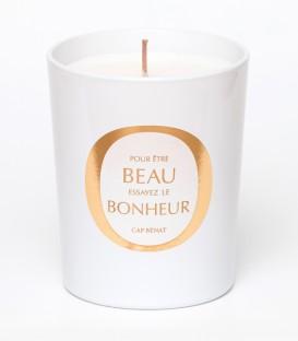 CAP BENAT bougie parfumée 200g BEAU BONHEUR MAISON Le Lavandou