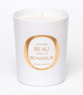 PRAMOUSQUIER bougie parfumée 200g BEAU BONHEUR MAISON Le Lavandou