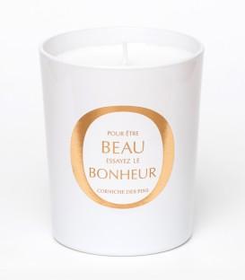CORNICHE DES PINS bougie parfumée 200g BEAU BONHEUR MAISON Le Lavandou