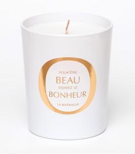 LA MADRAGUE bougie parfumée 200g BEAU BONHEUR MAISON Le Lavandou