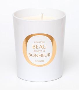 CAVALIERE bougie parfumée 200g BEAU BONHEUR MAISON Le Lavandou