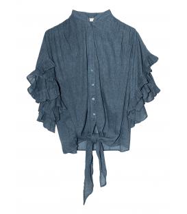 ELEGANTE chemise blue MES DEMOISELLES PARIS