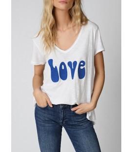 T-SHIRT LOVE BLUE FIVE JEANS