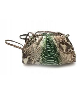 BABY UNIQ sac cuir python army SISTA PARIS