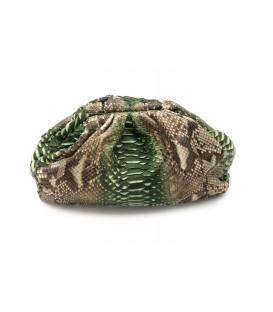 UNIQ sac cuir python army SISTA PARIS
