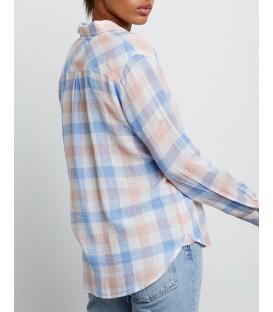 CHARLI chemise ivory petal sky RAILS CLOTHING
