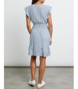 TARA robe echo stripe RAILS CLOTHING